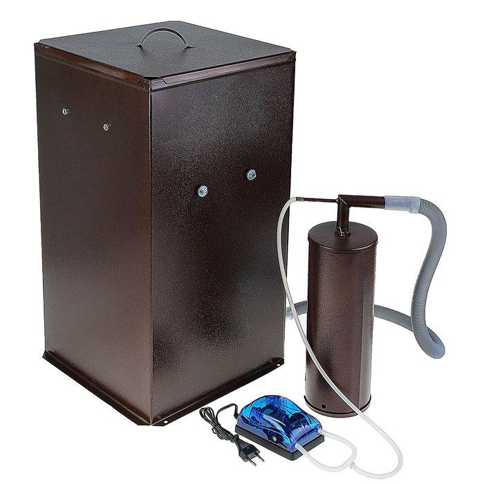 Коптильня Дым Дымыч 01Б, дымогенератор, 50 л, коричневая 1333763