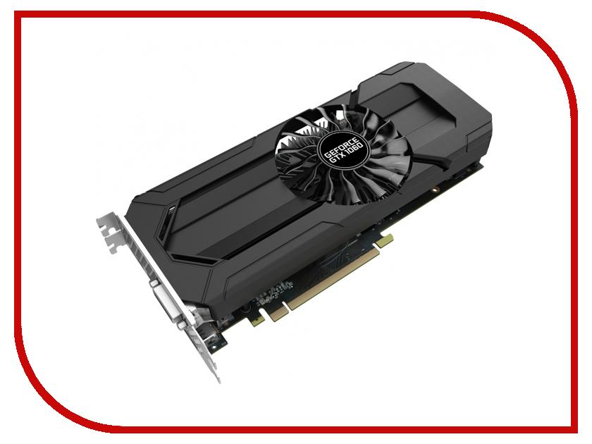 Купить Видеокарта Palit GeForce GTX 1060 StormX 1506Mhz PCI-E 3.0 3072Mb 8000Mhz 192 bit HDMI HDCP NE51060015F9-1061F