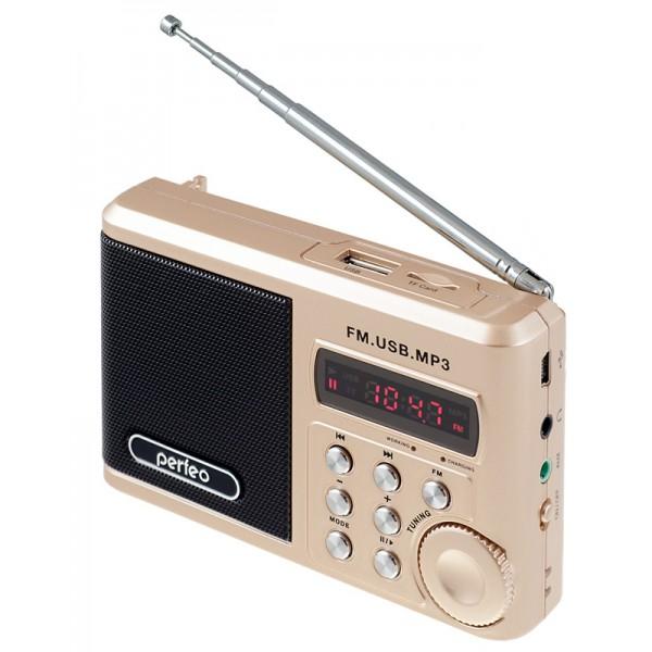 Купить Радиоприемник Perfeo PF-SV922AU Gold