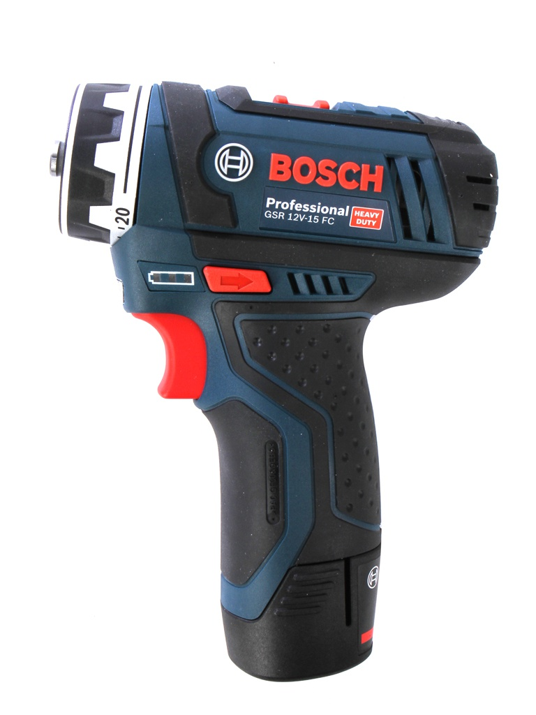 Электроинструмент Bosch GSR 12V-15 FC 2.0Ah x2 L-BOXX Set 06019F6000