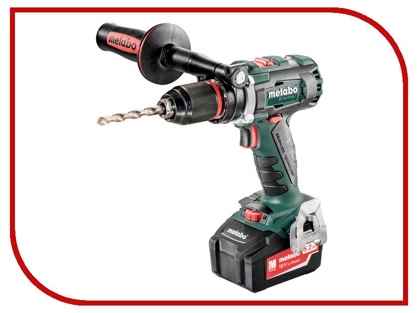 Купить Электроинструмент Metabo BS 18 LTX BL I 5.2Ah Case 602350650, Германия