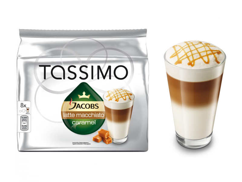 Капсулы Tassimo Latte Macchiato Caramel