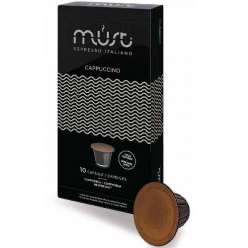Фото - Капсулы Must Cappucino 10шт стандарта Nespresso капсулы caffitaly system deca 10шт