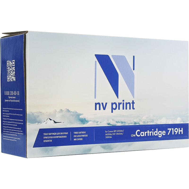 Купить Картридж NV Print 719H для i-SENSYS LBP6300dn/6310dn/6650dn/6670dn/6680x/MF5840dn/5880dn/5940dn/5980dw 6400k, (аналог Canon 719H)
