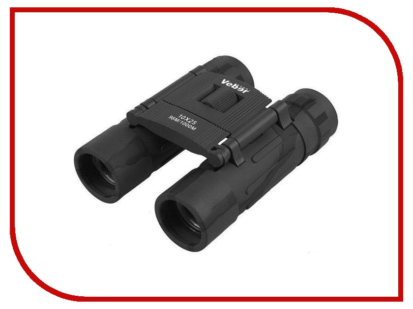 Купить Бинокль Veber Sport БН 10x25 Binoculars Black