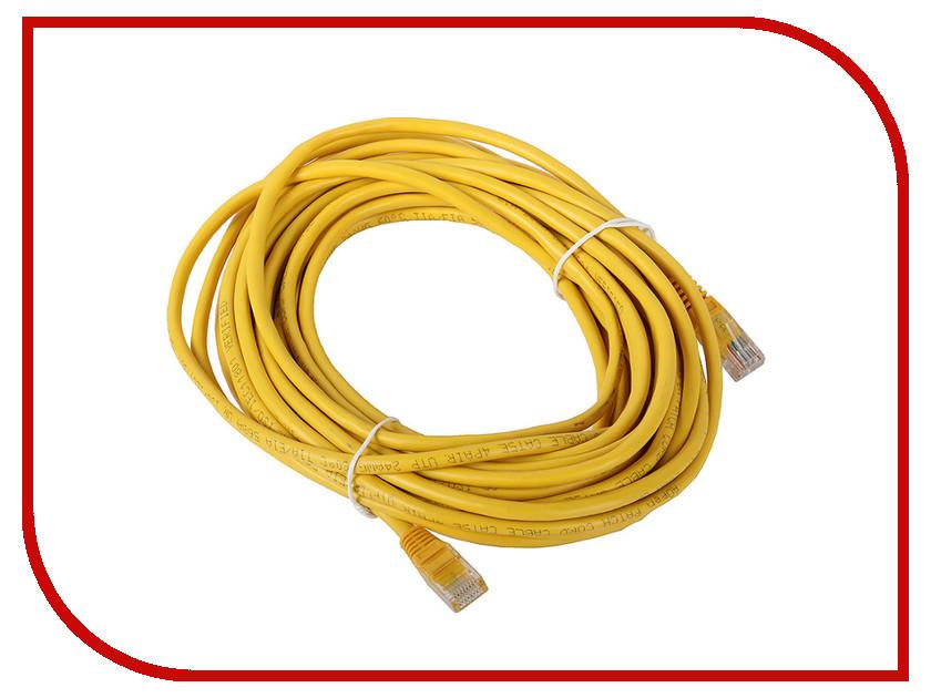 Купить Сетевой кабель AOpen UTP cat.5e ANP511 15m Yellow