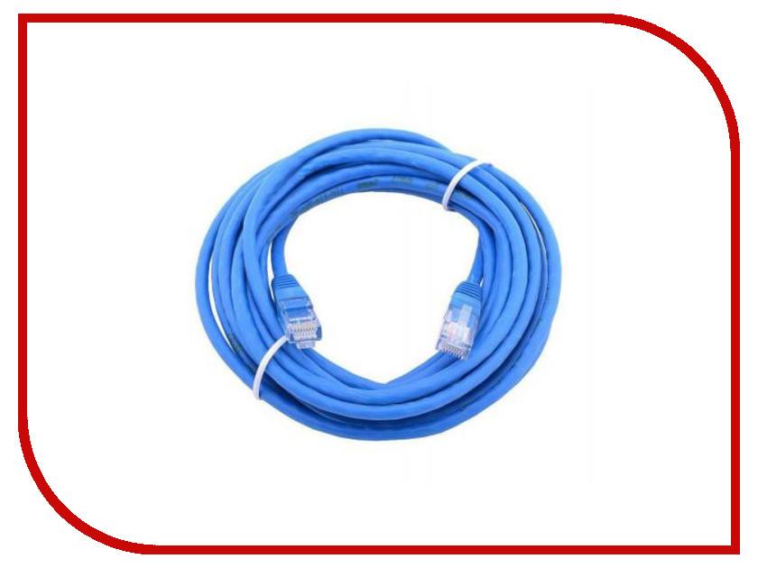 Купить Сетевой кабель AOpen UTP cat.5e ANP511 1.5m Blue