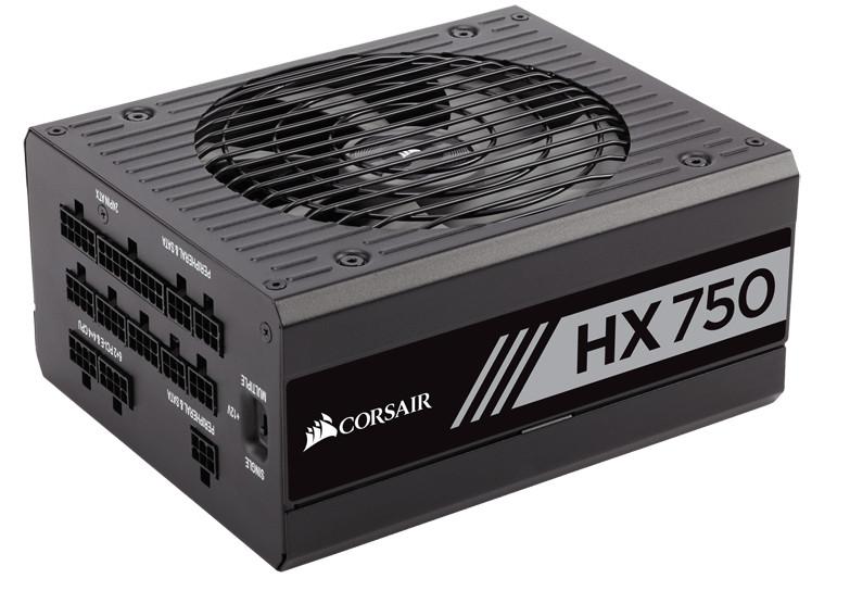 блок питания aerocool vx 750 750w Блок питания Corsair HX750 750W CP-9020137-EU