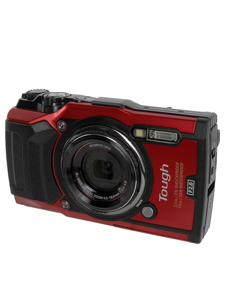 купить фотоаппарат olympus tg 3 Фотоаппарат Olympus TG-5 Red