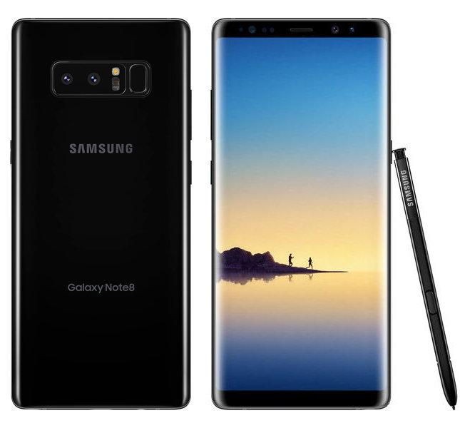 Сотовый телефон Note 8 Сотовый телефон Samsung Galaxy Note 8 64GB Black
