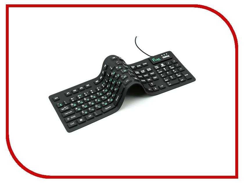 Купить Клавиатура Dialog Flex KFX-05U Black