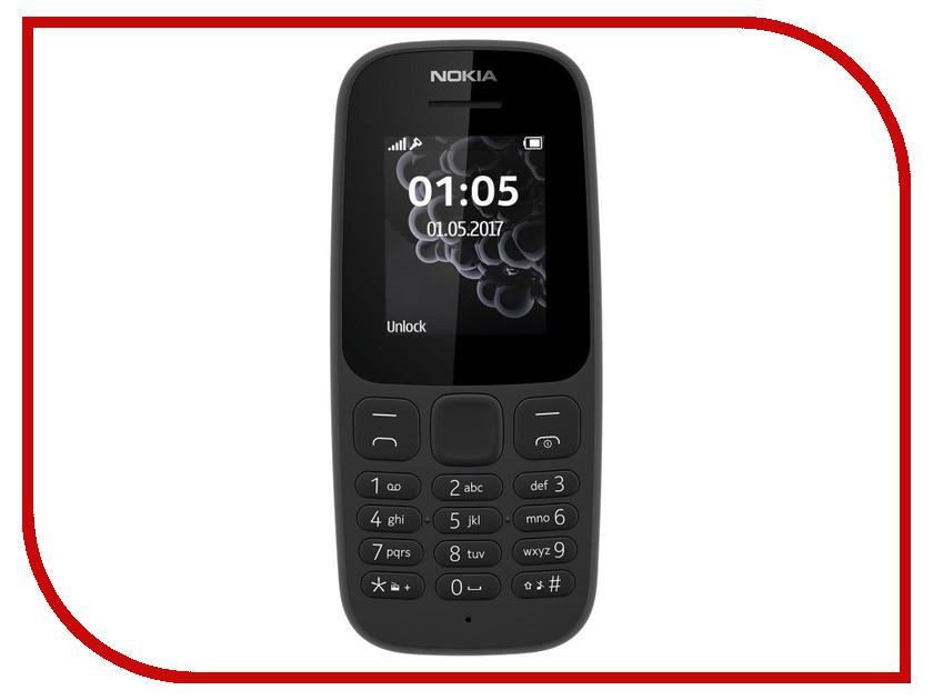 980f4b655f752 Сотовый телефон Nokia 105 Dual Sim TA-1034 Black | Festima.Ru ...