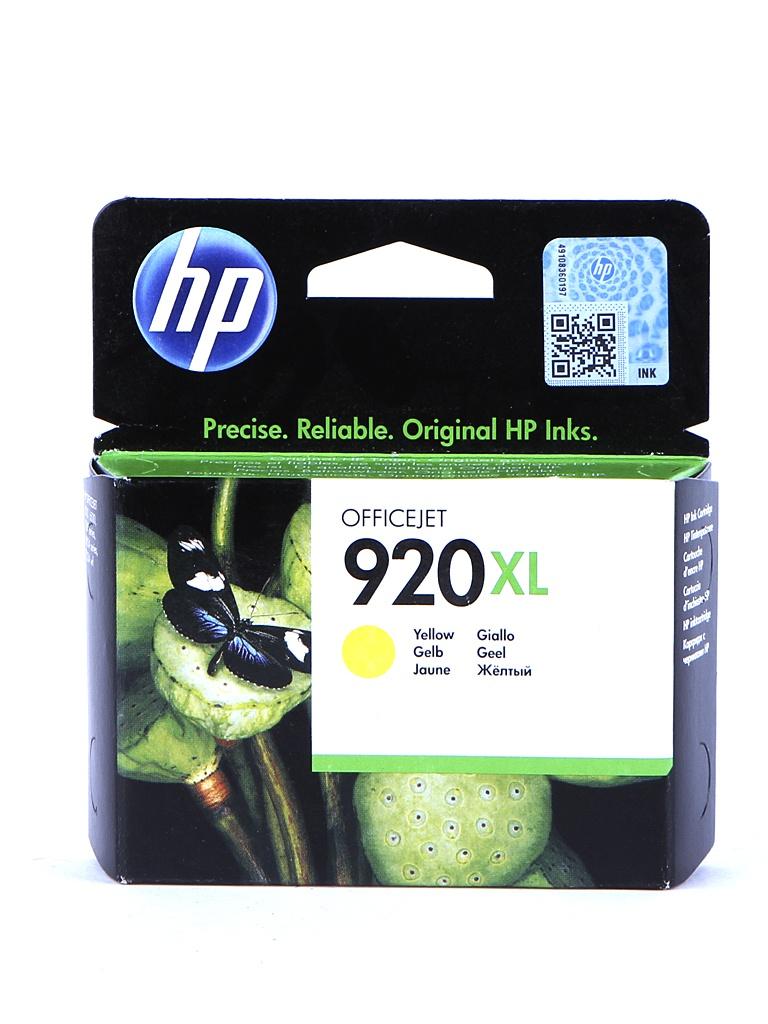 картридж hp 920xl officejet cd972ae cyan для 6000 6500 7000 Картридж HP 920XL Officejet CD974AE Yellow для 6000/6500/7000