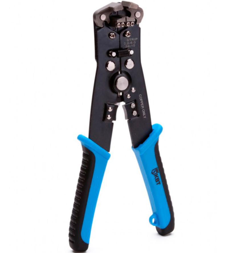 отвертка квт стандарт 67380 Инструмент для снятия изоляции КВТ WS-08 63839
