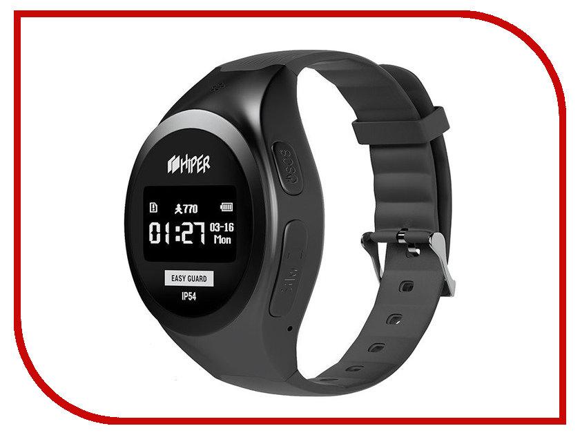 Купить Умные часы Hiper EasyGuard EG-01BLK Black