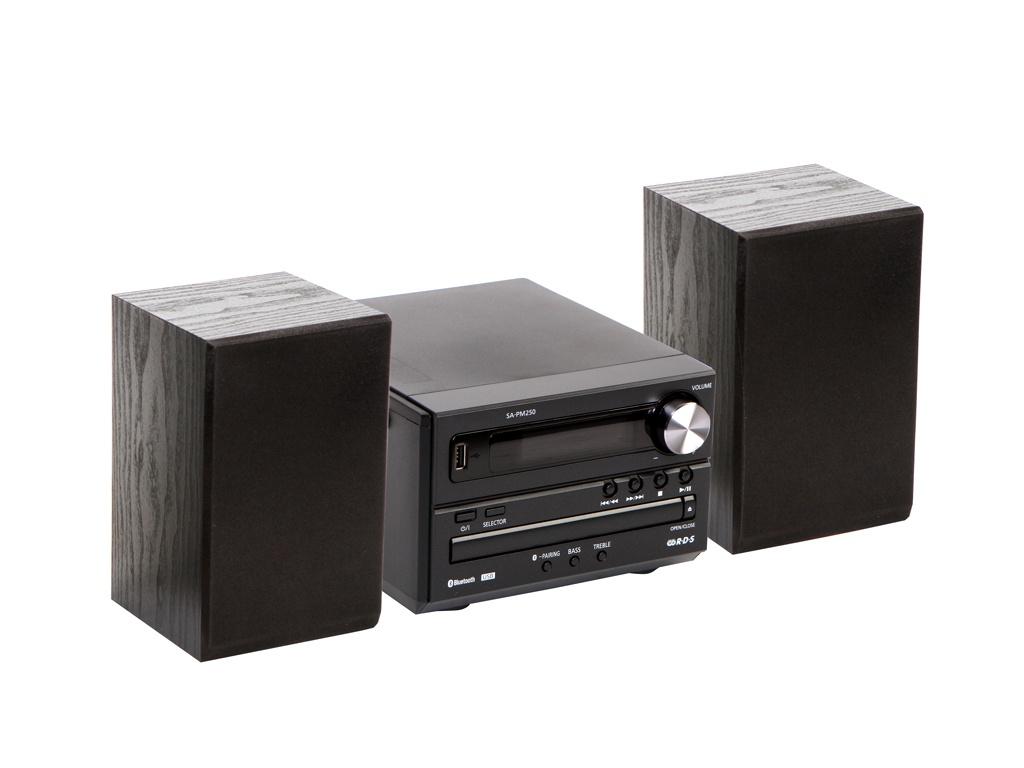 Минисистема Panasonic SC-PM250 Black SC-PM250EE-K