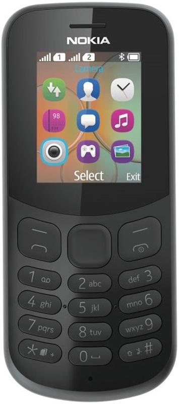 сотовый телефон nokia 3310 2017 ta 1030 yellow Сотовый телефон Nokia 130 Dual sim (2017) Black