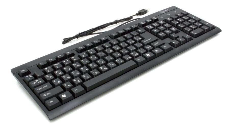 Клавиатура Gembird KB-8300U-BL-R USB  - купить со скидкой