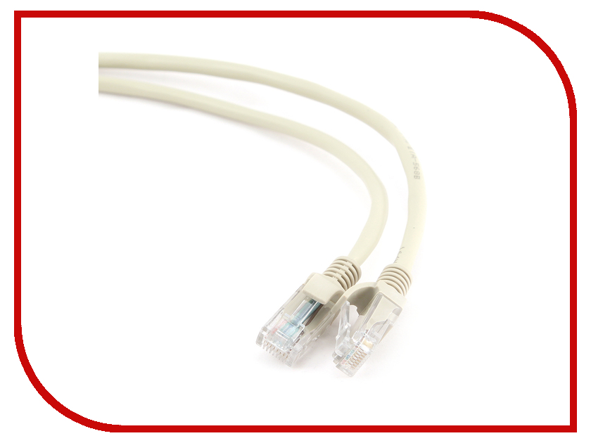 Купить Сетевой кабель Gembird Cablexpert UTP cat.5e 20m Grey PP12-20M