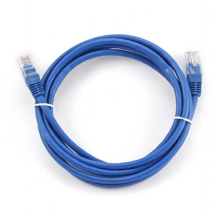 Сетевой кабель Gembird Cablexpert UTP cat.5e 2m Blue PP12-2M/B