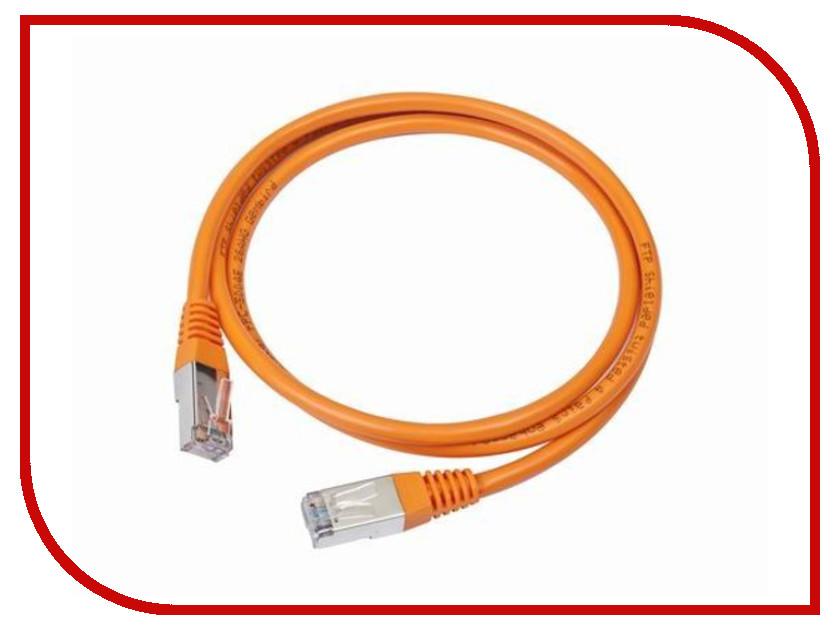 Купить Сетевой кабель Gembird Cablexpert UTP cat.5e 1m Orange PP12-1M/O