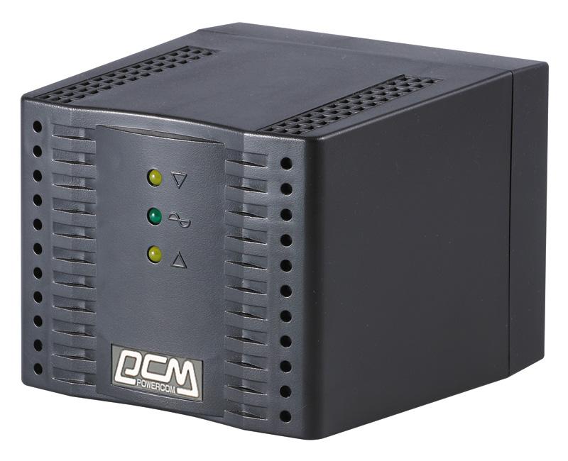 ps4 1208 купить Стабилизатор Powercom TCA-1200 Black