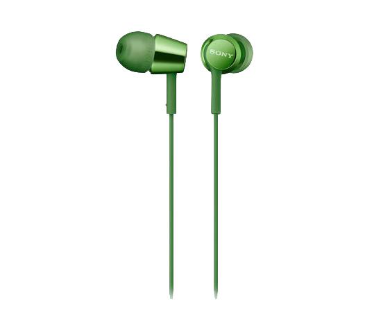 sony cyber shot hx400 купить Sony MDR-EX155AP Green