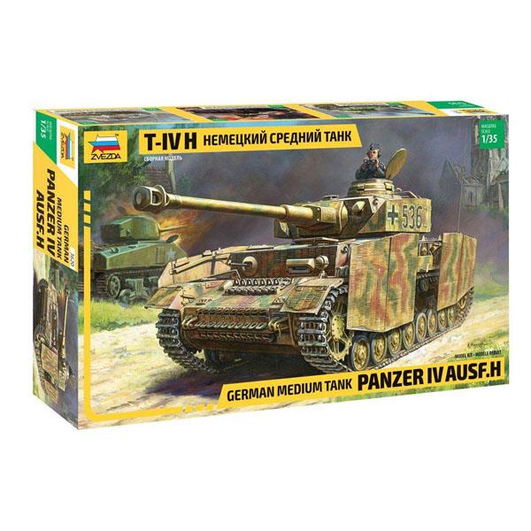 сборная модель zvezda советский тяжелый танк т 35 5061 Сборная модель Zvezda Немецкий средний танк T-IV 3620