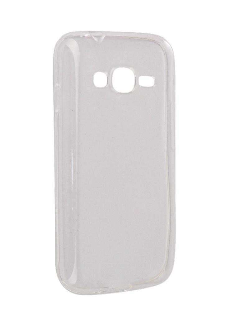 батарея для samsung galaxy s4 mini Аксессуар Чехол-накладка SkinBox для Samsung Galaxy J106 J1 mini Prime Slim Silicone 4People Transparent T-S-SGJ106-006