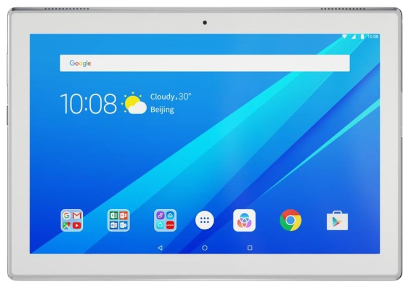 планшет asus zenpad z301mfl 10 32gb lte grey 1h006a Планшет Lenovo Tab 4 TB-X304L ZA2K0123RU (Qualcomm Snapdragon 425 1.4 GHz/2048Mb/32Gb/3G/LTE/Wi-Fi/Cam/10.1/1280x800/Android)