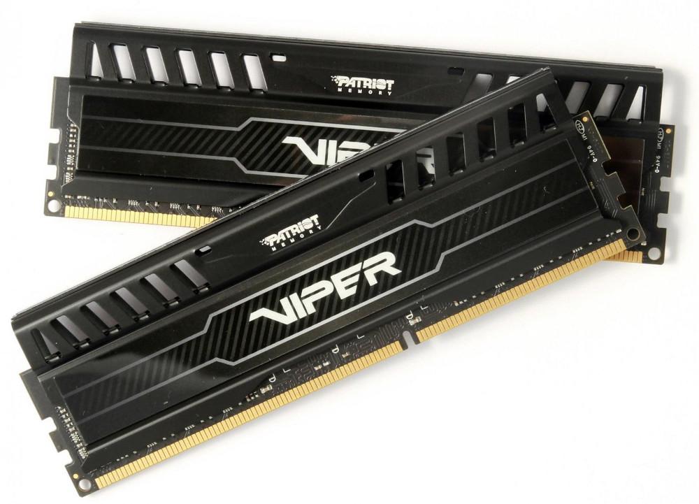 Модуль памяти Patriot Memory DDR3 1600MHz PC-12800 CL14 - 8Gb KIT (2x4Gb) PV38G160C9K