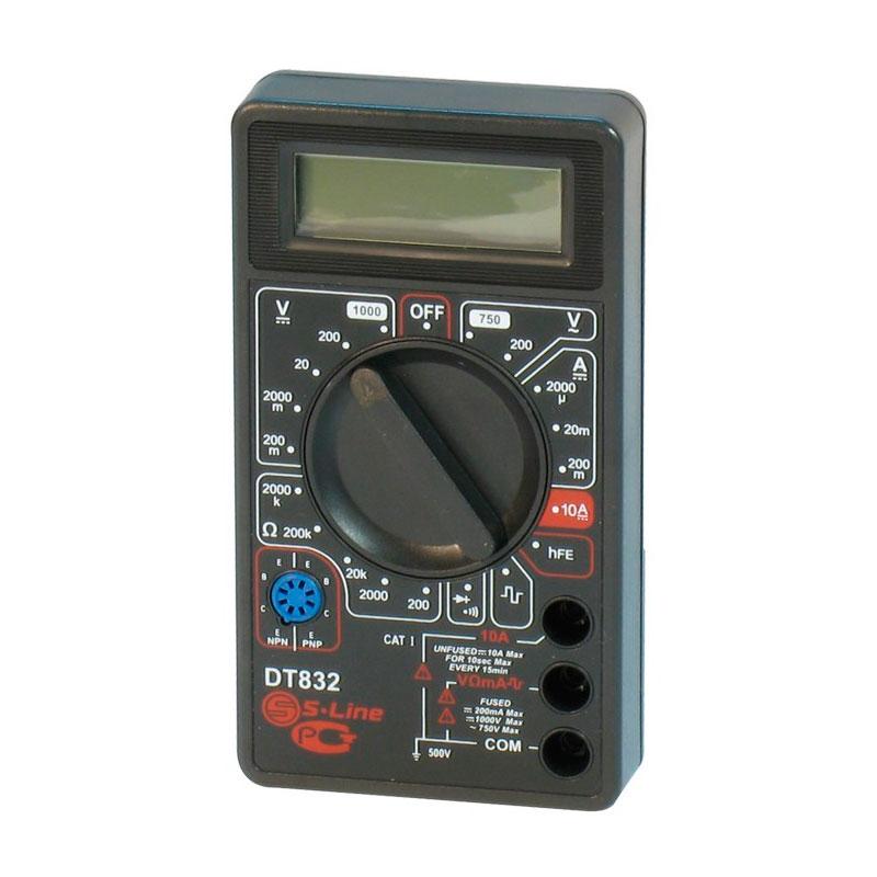 3 dt Мультиметр S-Line DT-832