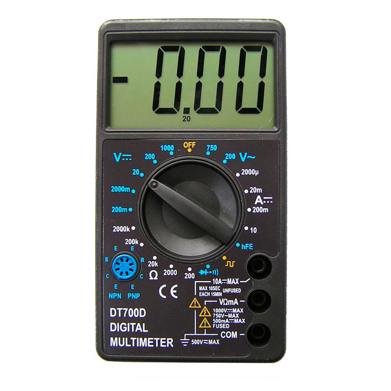 3 dt Мультиметр S-Line DT-700D
