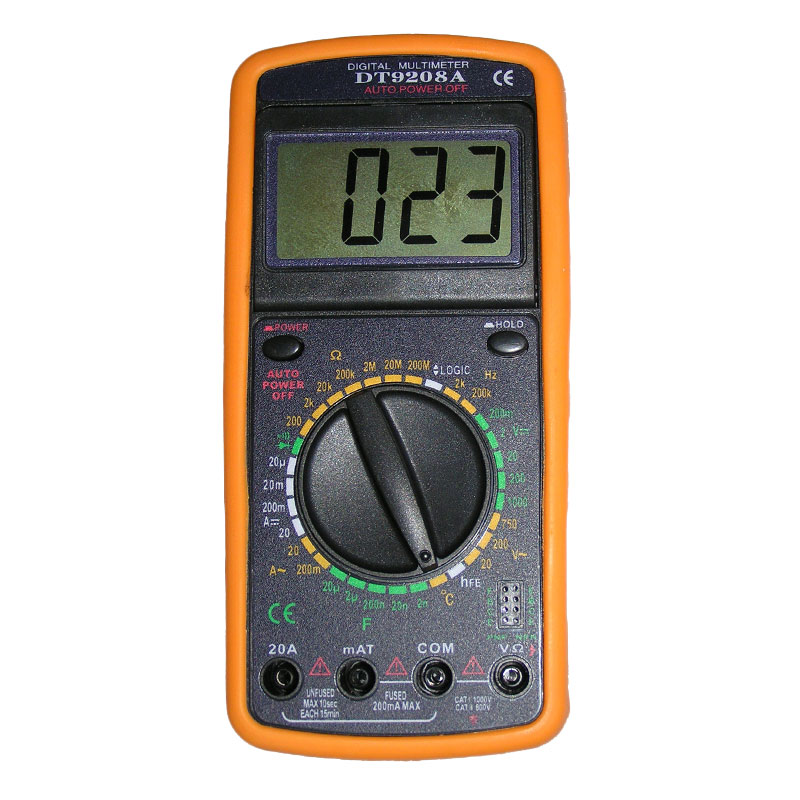 3 dt Мультиметр S-Line DT-9208A