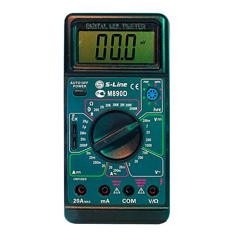 Мультиметр S-Line M-890D мультиметр s line va20
