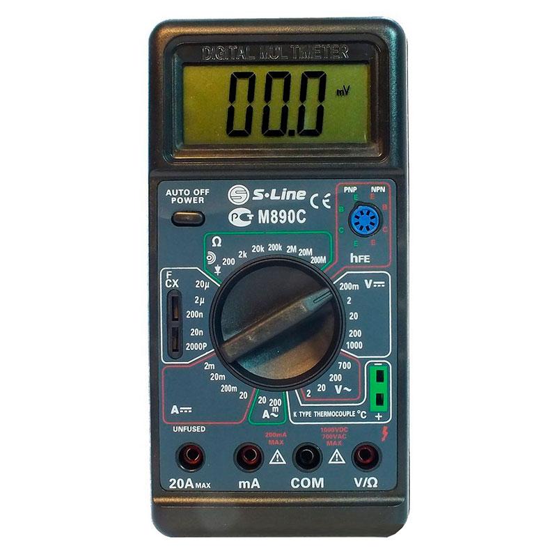 Мультиметр S-Line M-890C мультиметр s line va20