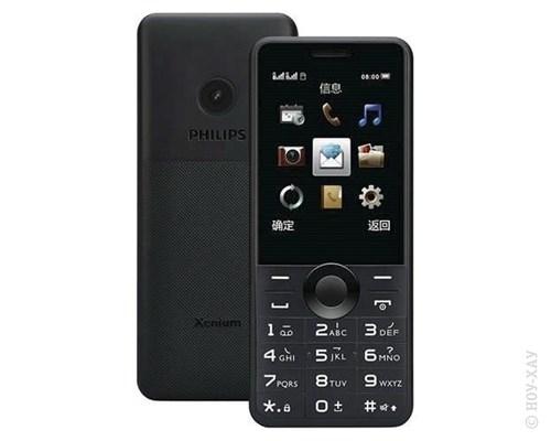 купить телефон philips xenium 5500 Сотовый телефон Philips Xenium E168 Black