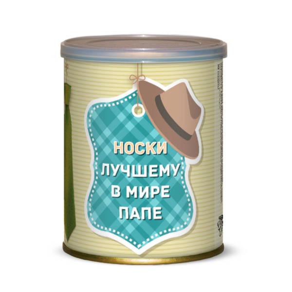 айфон се дата выхода в россии Носки лучшему в мире папе Canned Socks Black 415317