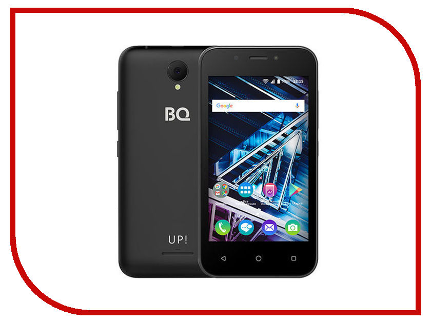 Купить Сотовый телефон BQ BQ-4028 Up Black