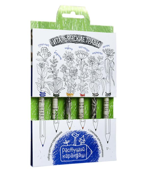 rolsen rk 1050cr Растение Растущий карандаш Итальянские травы цветные 6шт RK-02-06-04