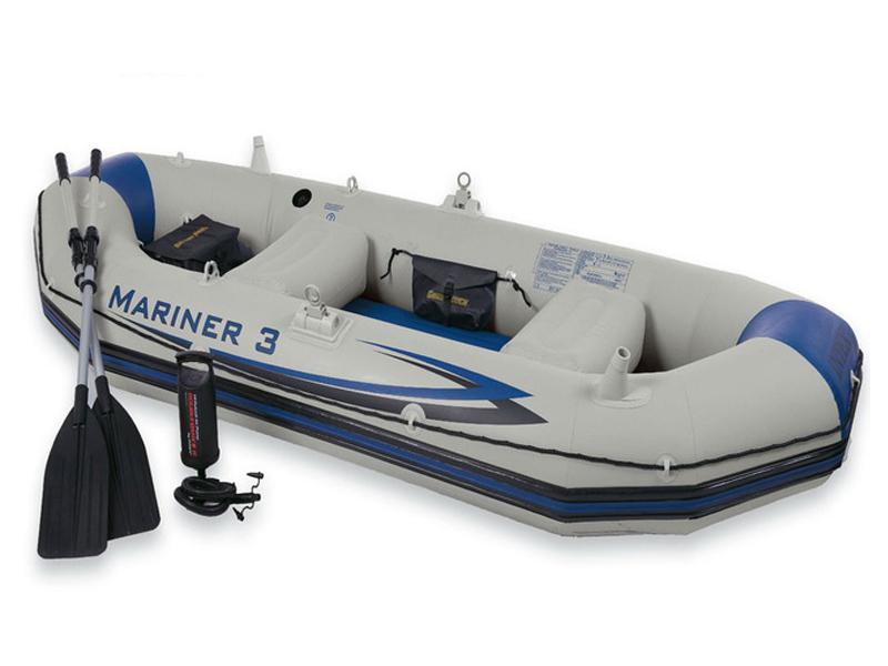 Лодка Intex Mariner-3 Set 68373