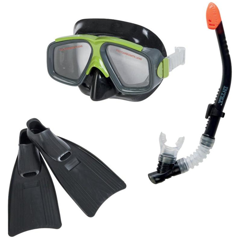 Купить Набор маска + трубка + ласты Intex Surf Rider Sports 55959