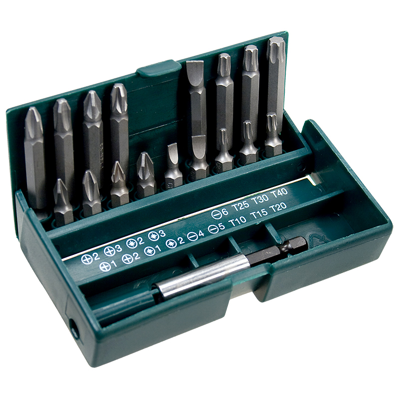 набор отверток stayer professional 25134 h18  z01 Набор бит Kraftool Expert 18шт 26131-H18