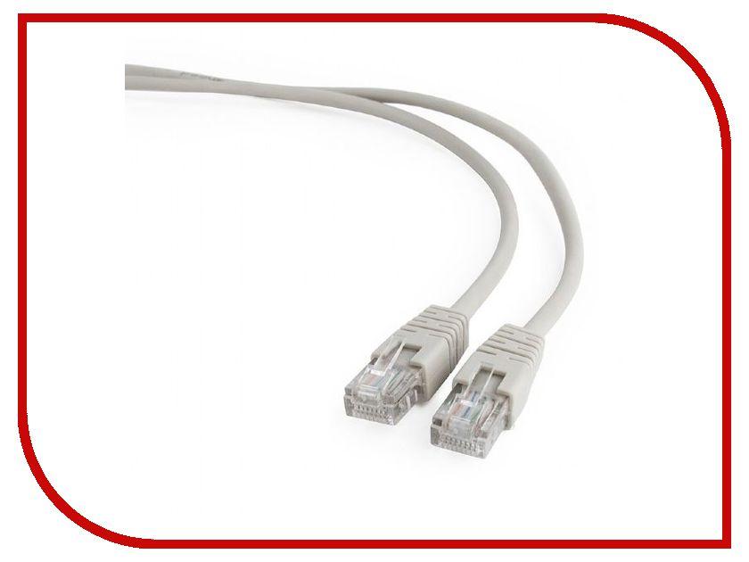 Купить Сетевой кабель Gembird Cablexpert UTP cat.5e 5m Gray PP12-5M