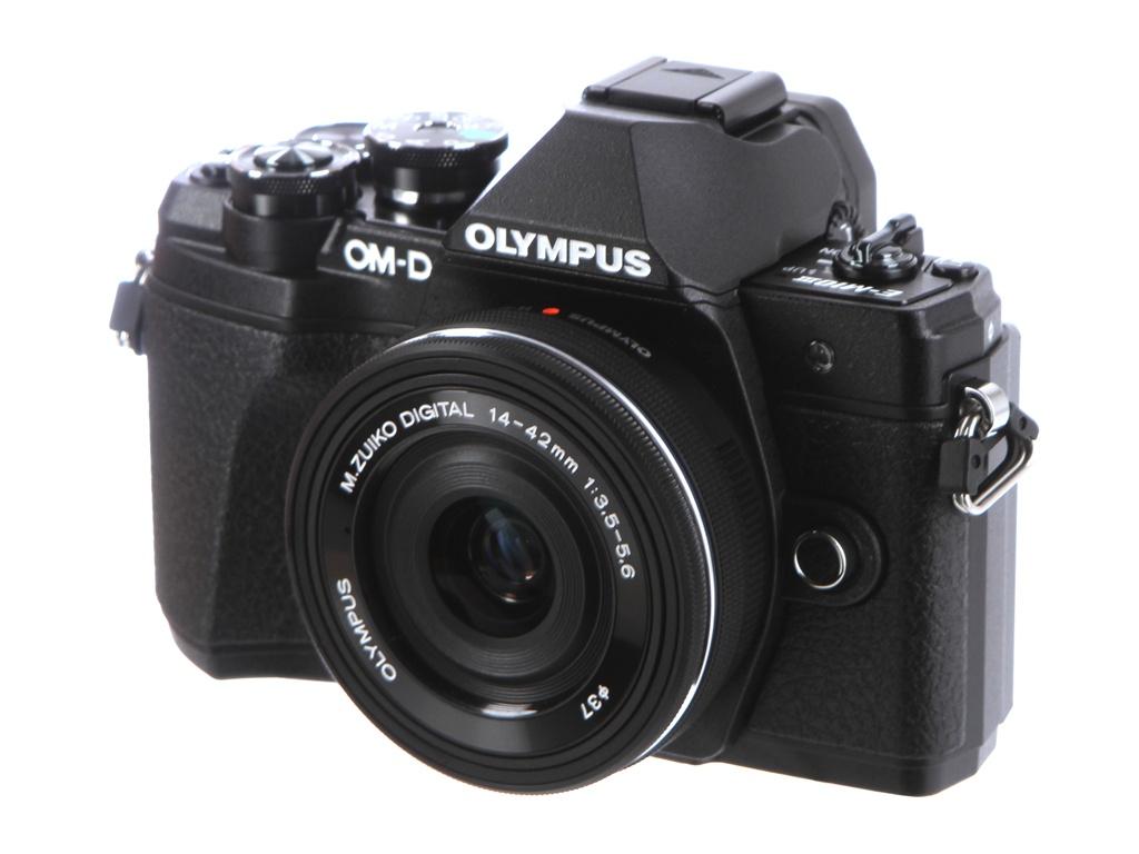 купить фотоаппарат olympus tg 3 Фотоаппарат Olympus OM-D E-M10 Mark III Kit 14-42 mm EZ Black
