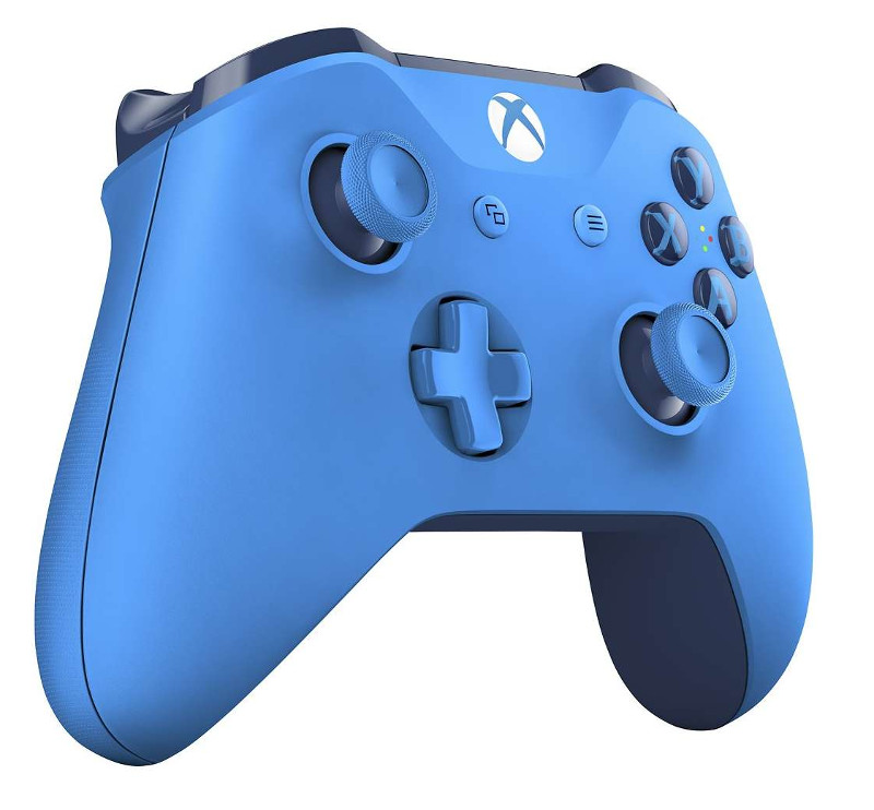 игровая приставка microsoft xbox one s 1tb zenit lion rb xb13 Геймпад Microsoft XBOX One Wireless Controller Blue WL3-00020