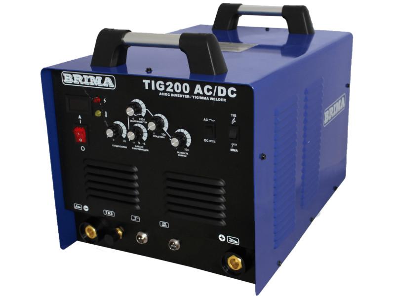 сварочный аппарат brima tig 200 ac dc Сварочный аппарат BRIMA TIG 200 AC/DC