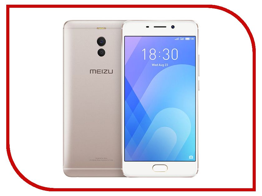 Купить Сотовый телефон Meizu M6 Note 16Gb Gold
