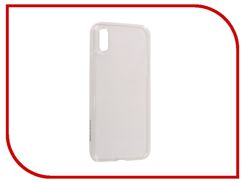 Купить Аксессуар Чехол для APPLE iPhone X Brosco Silicone Transparent IPX-TPU-TRANSPARENT