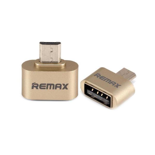 Фото - Аксессуар Remax RA-OTG USB 2.0 - microUSB Gold 64832 vertex impress ra 4g grafit